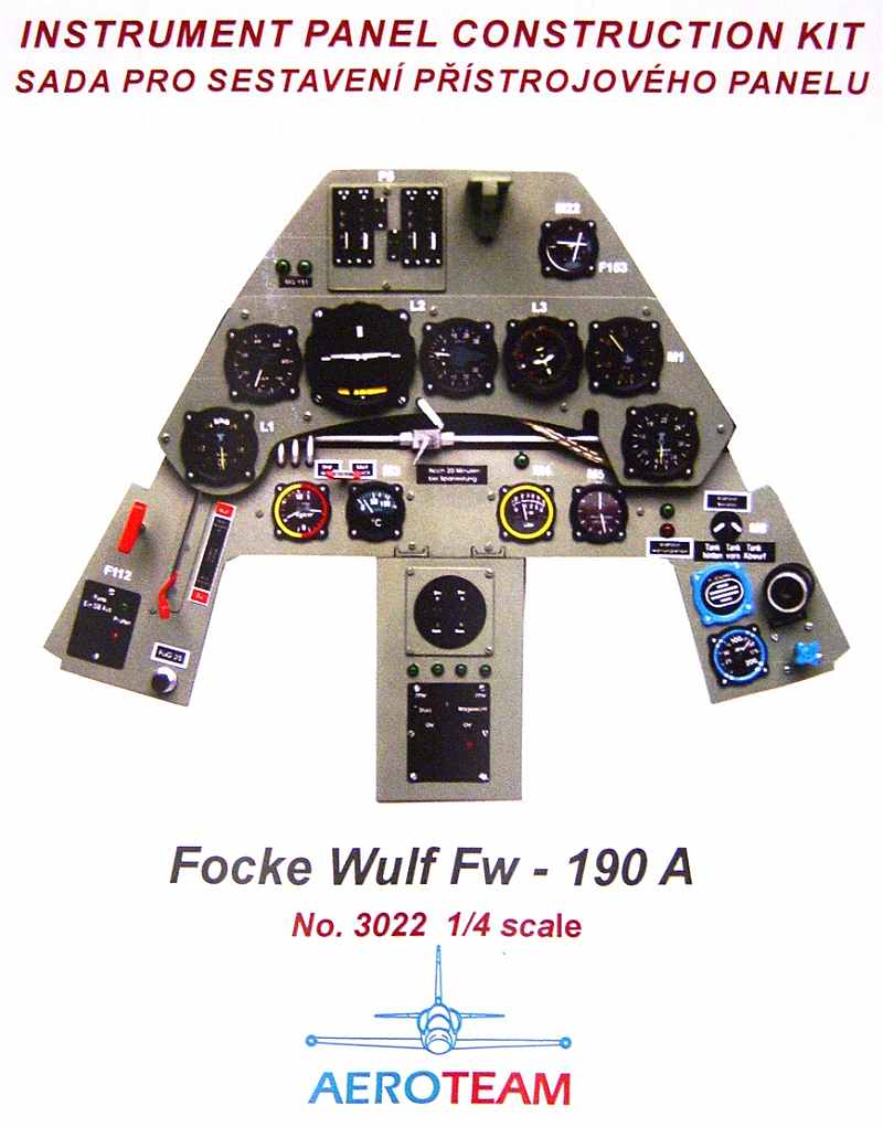 Fw 190 Cockpit Kit http://www.meister-scale.com/FW190A/Accessories/FW190A_accessories.html