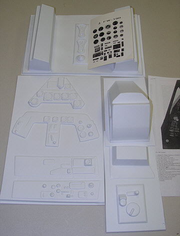 Fw 190 Cockpit Kit http://www.meister-scale.com/FW190D9/Accessories/FW190D9_accessories.html