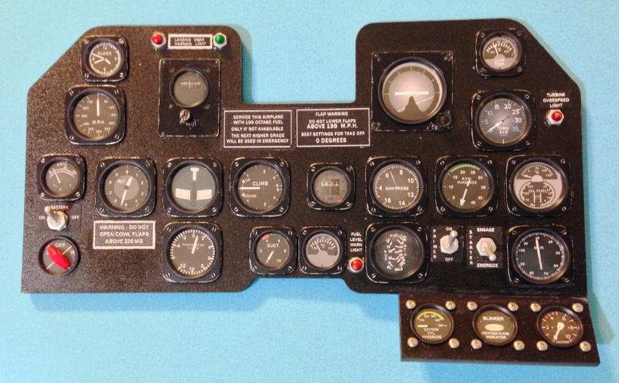Meister Scale 1 4th Scale P 47 Thunderbolt Accessories
